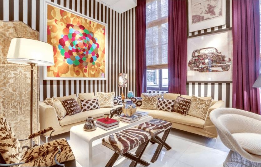 Appartement de luxe à Paris.